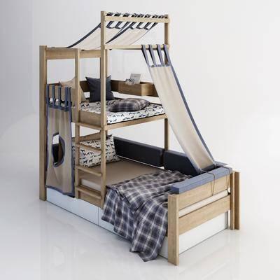 单人床, 上下铺, 床具组合, 儿童床