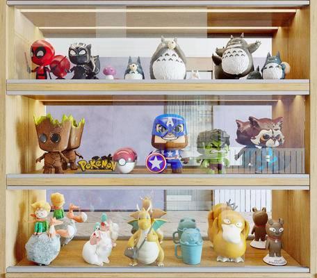 现代摆件, 玩具, 玩偶