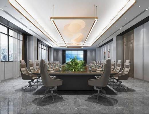會議室, 吊燈, 單椅