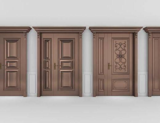 子母门, 密码门, 大门, 双开门