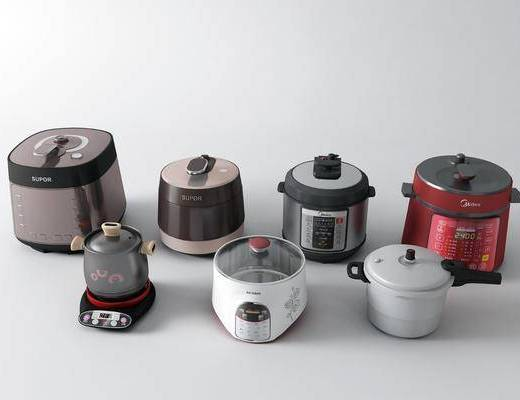 电饭煲, 电砂锅, 电器