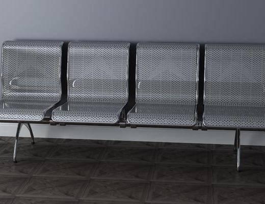 公共椅, 单人椅, 现代