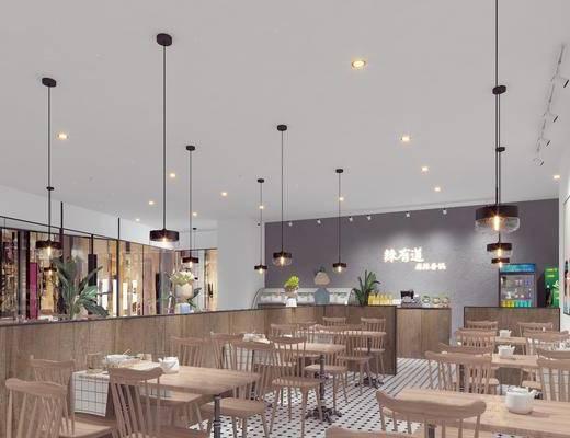 北欧, 餐厅, 餐桌椅