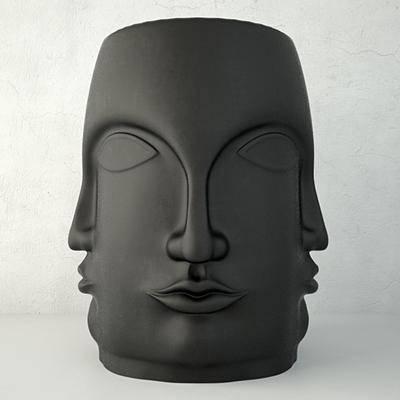 凳子, 佛像, 现代