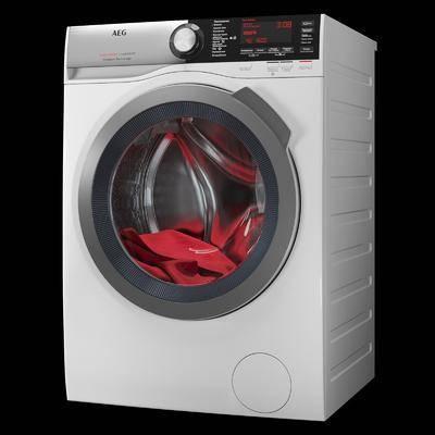 现代洗衣机, 柜筒洗衣机