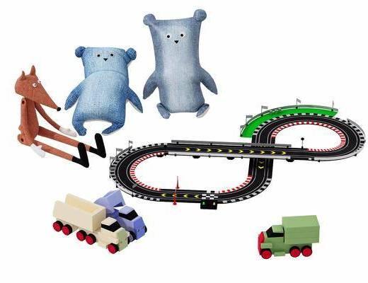 玩偶, 玩具, 现代