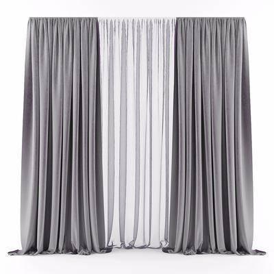窗帘, 布帘