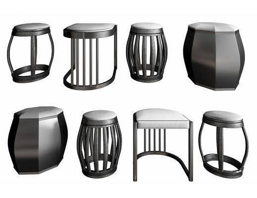 矮凳, 凳子, 单椅