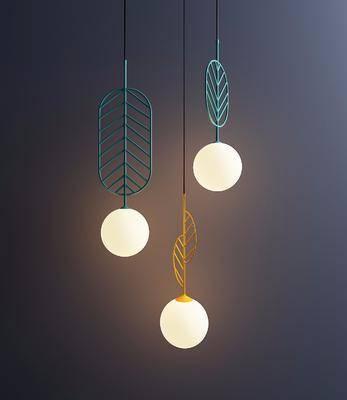 吊燈組合, 北歐