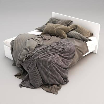 雙人床, 床具, 現代