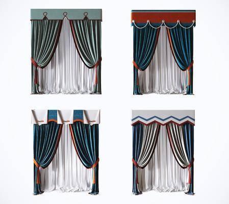 窗帘, 布艺窗帘