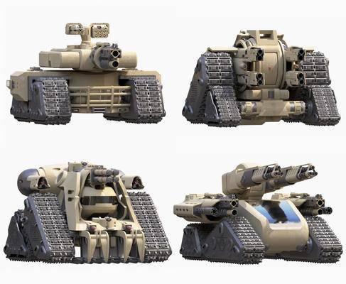 后现代, 科幻, 坦克