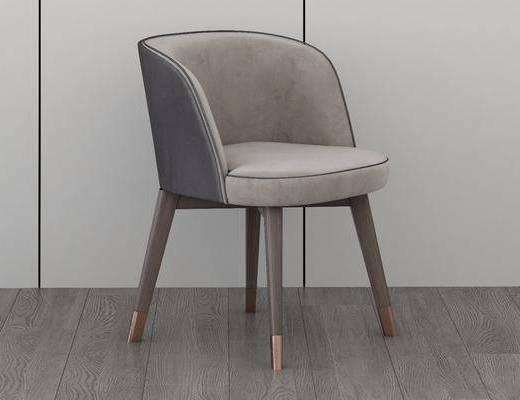 休闲餐椅, 单人椅, 现代