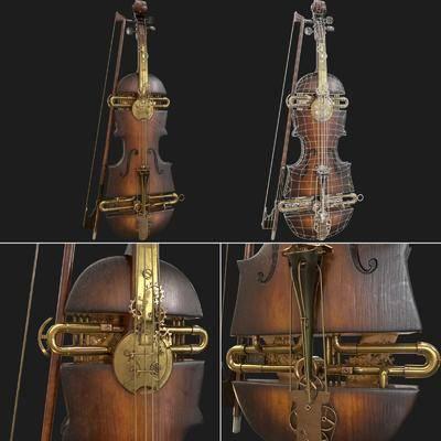 复古小提琴, 小提琴, 乐器