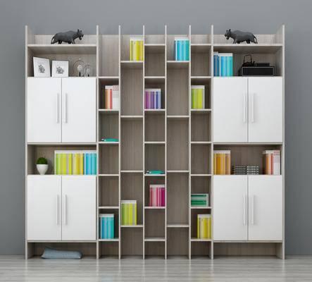 书柜, 北欧书柜, 整体书柜, 个性书柜, 实木书柜, 书架书柜