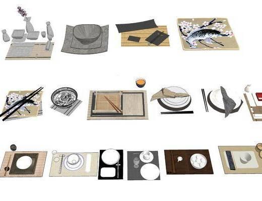 日式餐具, 盘子