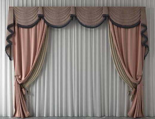 简欧窗帘, 窗帘