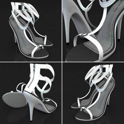 女装凉鞋, 现代