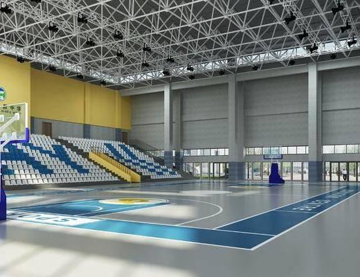 篮球场, 运动场, 座椅