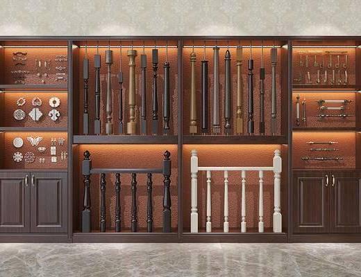 楼梯产品, 装饰柜, 现代