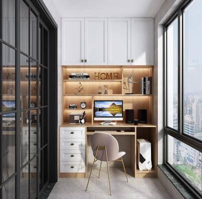 阳台, 书桌椅