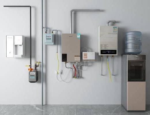 现代热水器, 燃气阀, 饮水机