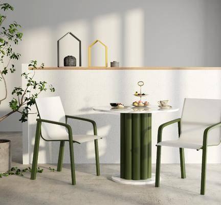 北欧, 椅子, 单椅, 实木椅