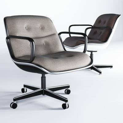 休闲椅, 办公椅, 单椅, 现代