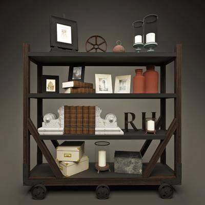 现代, 装饰架, 装饰柜, 书籍, 书籍摆件