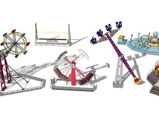 游乐设施, 机动游戏, 摩天轮