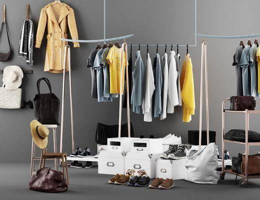 衣架, 服装, 服装组合