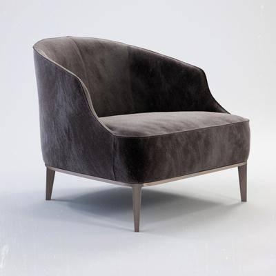 现代休闲单人沙发, 现代, 单人沙发, 椅子