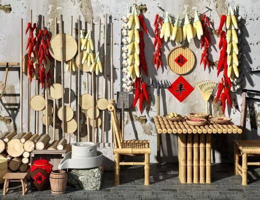 石磨, 中式农具, 中式农业工具