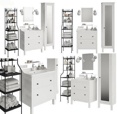 现代, 浴室柜, 组合