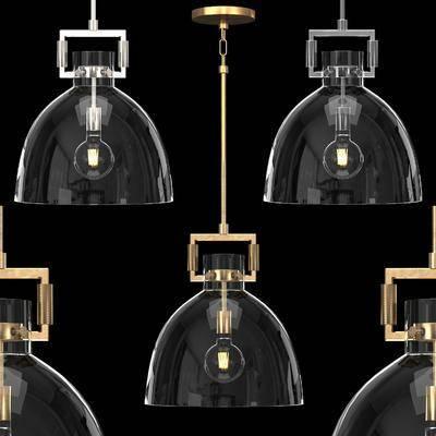 吊燈, 工業風吊燈