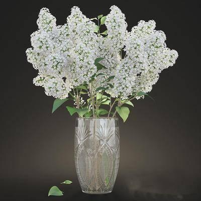 花卉, 摆件, 装饰品, 陈设品, 现代, 花瓶