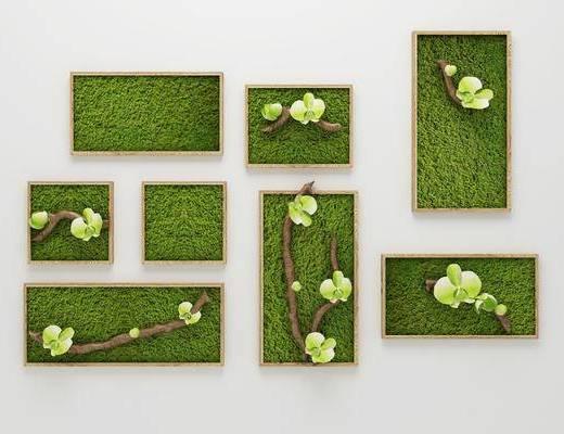 植物树枝, 装饰画, 现代