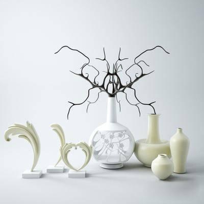 摆件, 瓷器陶瓷, 现代