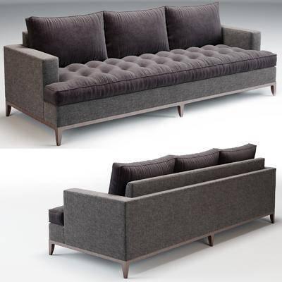多人沙发, 布艺沙发, 简欧沙发, 现代沙发