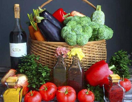 现代简约, 蔬菜, 水果, 日用品, 食品