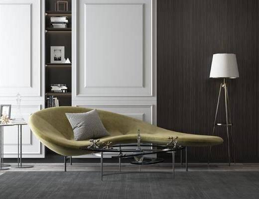 沙发组合, 现代沙发组合, 异形沙发