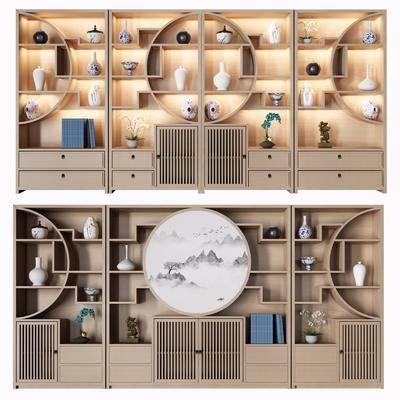 装饰柜架, 书柜, 置物柜
