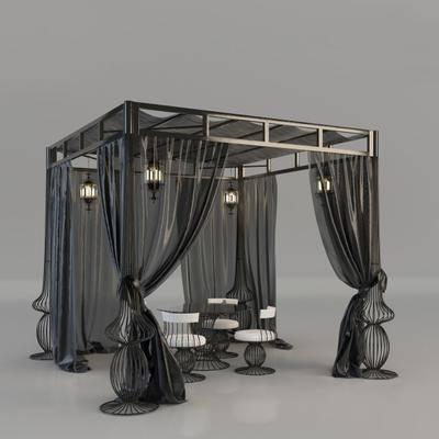 桌椅组合, 户外, 户外餐桌, 户外椅, 窗纱, 户外窗纱, 现代餐桌, 组合, 现代