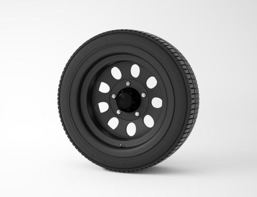輪胎, 現代