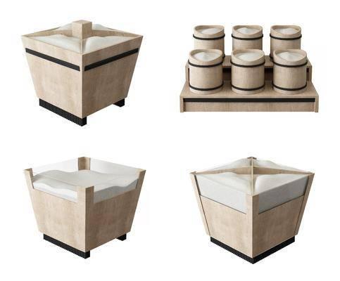 超市, 现代木米桶, 米仓, 木米桶, 现代