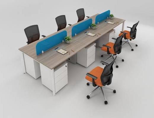 办公桌, 办公椅, 办公桌椅, 椅子, 桌子, 办公