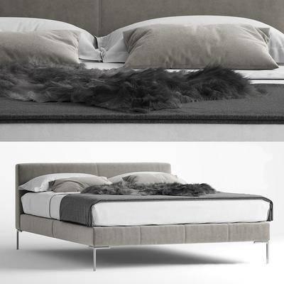 床具, 双人床, 现代双人床, 现代
