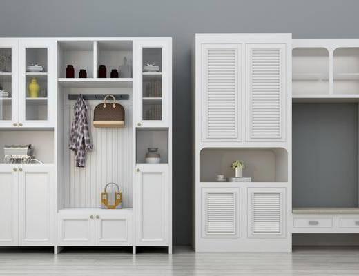 鞋柜, 储物柜, 装饰柜, 北欧