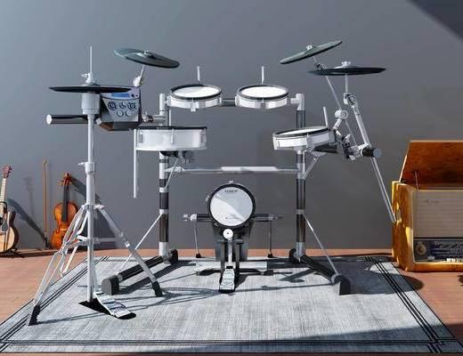 架子鼓, 乐器