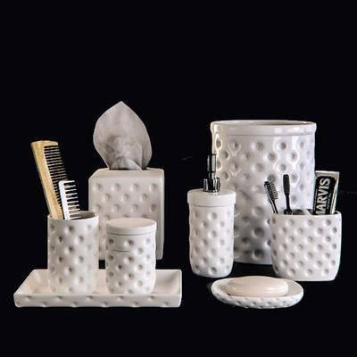 卫浴, 牙刷, 杯子, 纸巾盒